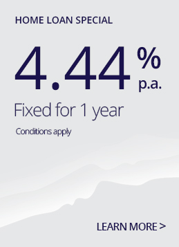 1 year fixed rate special