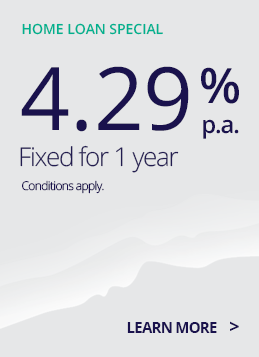 TSB home loan rate 4.29% 1 year fixed