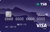 TSB Visa Debit Card