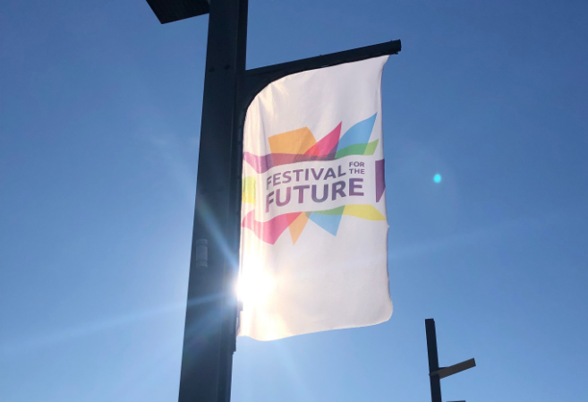 Festival for the Future and TSB partnership