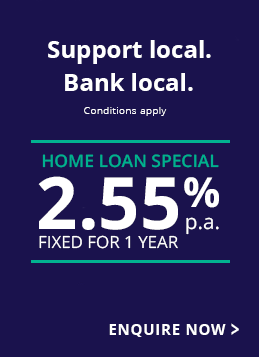 Home Loan Special 2.55%p.a. fixed for 1 year