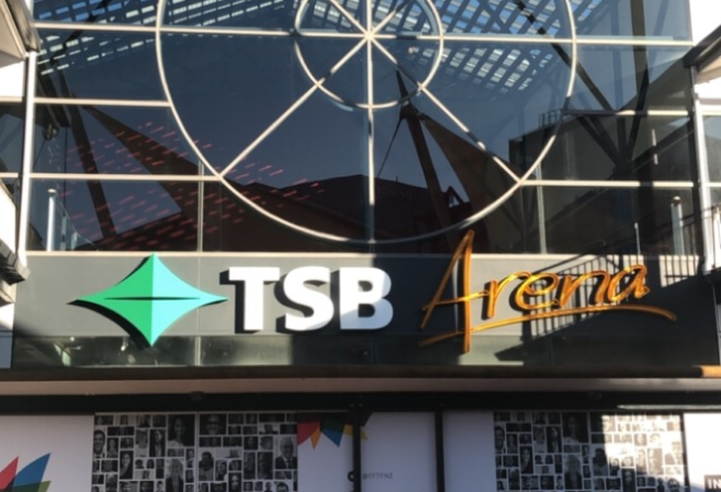 TSB arena in Wellington