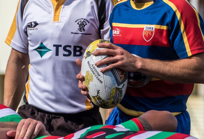 Wellington Rugby Referees Association and TSB partnership