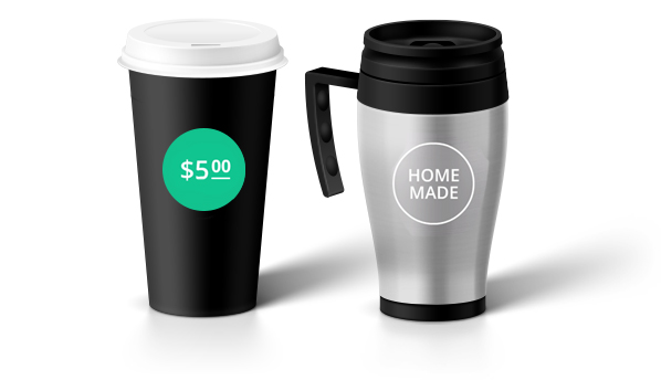 stepup coffee cups