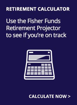 Fisher Funds Retirement Projector calculator