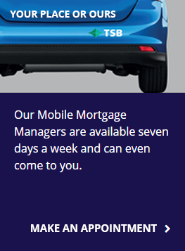 TSB mobile mortgage manager