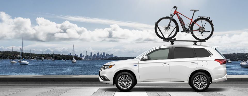 monthly car draw Mitsubishi Outlander PHEV or one of two Merida e-bikes
